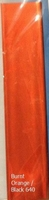 640 Friendly Plastic/Plast.Magique Burnt Orange/Black 18x4cm