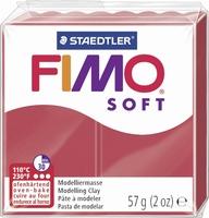 Fimo soft 26 kersen rood 57 gram