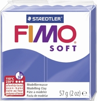 Fimo soft 33 brilliant blauw 57 gram