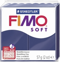 Fimo soft 35 windsor blauw 57 gram