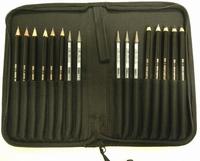 KOH-I-NOOR art.5299 Potlodenetui gevuld 17 potloden