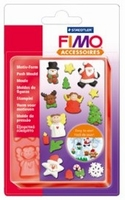 FIMO siliconen duwvorm/pushmold 8725-06 Kerst