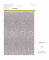 Glitterpapier 5vel/A4/120grams CE001290_0160 Wit