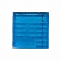 Glasmozaiek transparant blauw 1070 20 mm 40 stuks