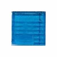 Glasmozaiek transparant blauw 1070