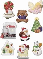 Gietvorm Knorr Prandell 2713-008 Kerst - Weihnachten 5 a 6cm