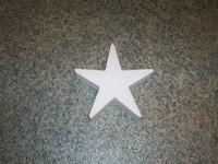 Styropor ster snijvorm 15cm 15cm dikte 3cm