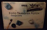 Kreull Hobby Line 49990 Foto Transfer Potch Set Vintage