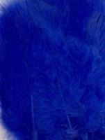 VEREN: Marabou veren Blauw H&C Fun 12228-2804 15stuks/ca.12cm