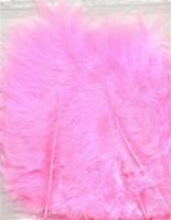 VEREN: Marabou veren Roze H&C fun 12228-2806 15stuks/ca.12cm