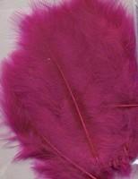 VEREN: Marabou veren Fuchsia H&C Fun 12228-2807 15stuks/ca.12cm