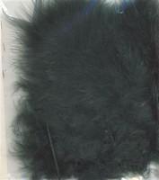 VEREN: Marabou veren Groen H&C Fun 12228-2812 15stuks/ca.12cm
