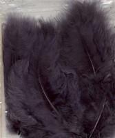 VEREN: Marabou veren Grijs H&C Fun 12228-2816 15stuks/ca.12cm