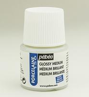 Pebeo porseleinverf medium: 38.002 Medium/vernis gloss