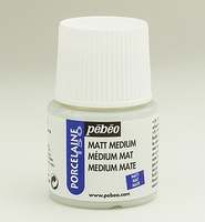 Pebeo porseleinverf medium: 38.001 Medium/vernis matt