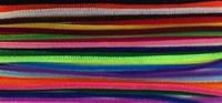Chenille draad 6mm 12271-7151 Kleurenmix 30cm (26stuks)