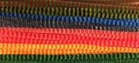 Chenille draad 6mm 12271-7132 Stripes kleurenmix 30cm (24stuks)