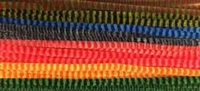 Chenille draad 6mm 12271-7132 Stripes kleurenmix