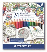 Staedtler Norisclub kleurpotloden C144C24JB box 24 kleuren