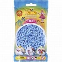 HAMA kralen dekkend lichtblauw 0046 1000 stuks