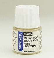 Pebeo porseleinverf medium: 38.003 Filler undercoat (primer) flacon 45ml