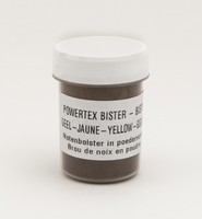 Powertex Bister poeder 0280 Yellow ca.24gram 40ml