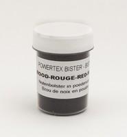 Powertex Bister poeder 0281 Red ca.24gram 40ml