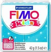 Fimo Kids 8030-312 Glitter Blauw