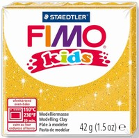 Fimo Kids 8030-112 Glitter Goud