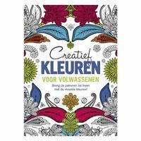 BOEK: Creatief kleuren voor volwassenen isbn.9044738872 paperback A4