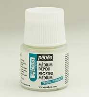 Pebeo Vitrea glas medium: 30-053 Frost effect flacon 45ml