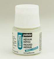 Pebeo Vitrea glas medium: 30-053 Frost effect