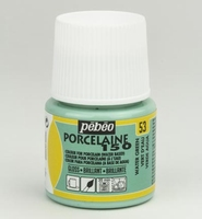 Pebeo porseleinverf 45ml: 053 Pastel Water Green
