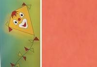 Folia Vliegerpapier Oranje 88120-40