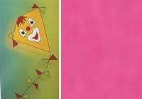 Folia Vliegerpapier Roze 88120-23