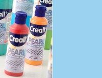 Creall Pearl parelmoer Acrylverf 07 Blauw