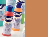 Creall Pearl 80ml parelmoer Acrylverf 12 Bruin