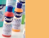 Creall Pearl parelmoer Acrylverf 03 Oranje  80 ml