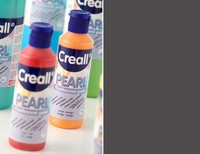 Creall Pearl parelmoer Acrylverf 15 Zwart