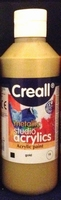 Creall Studio acryllics metallic Gold 19/250ml 250ml fles
