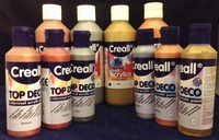 Creall Studio acryllics metallic Copper 21/250ml 250ml fles