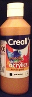 Creall Studio acryllics metallic Antique Gold 23/250ml 250ml fles