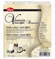 VIVA Decor Stein Effekt set Venezia Bianco 8001.535.64 set
