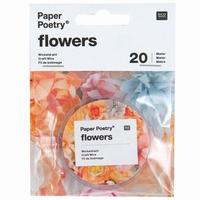 Paper Poetry 9900.62.41 Wikkeldraad zilverkleur. 0,4mm/20meter