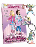 Krimpfolie pakket 1451 Girlz with Bling Shrinkles
