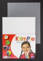 Krimpie Dinkie Magic Plastic COLKPFR1028 Frosted 20x25cm 4 vel