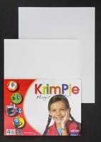 Krimpie Dinkie Magic Plastic COLKPWT1011 Wit 20x25cm 4 vel