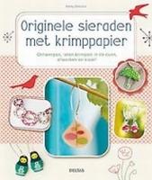 Boek: Originele Sieraden maken met Krimppapier (Krimpfolie) paperback