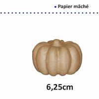 Papier mache POMPOEN 6,25x9cm VAE16711/062