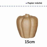 Papier mache POMPOEN art. 16711/061 15 cm